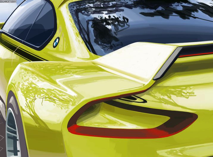Konzeptstudie BMW 3.0 CSL Homage / 2015