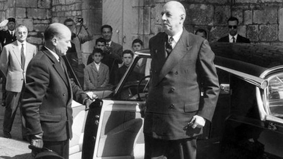 Charles de Gaulle fuhr Citroën DS