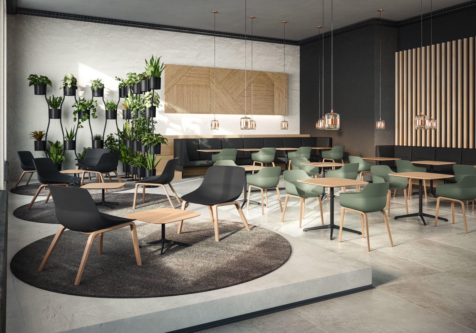 Den bequemen crona lounge mit niedriger Sitzhöhe wird es bald auch in der pflegeleichten Light-Version geben. Foto: © Brunner GmbH