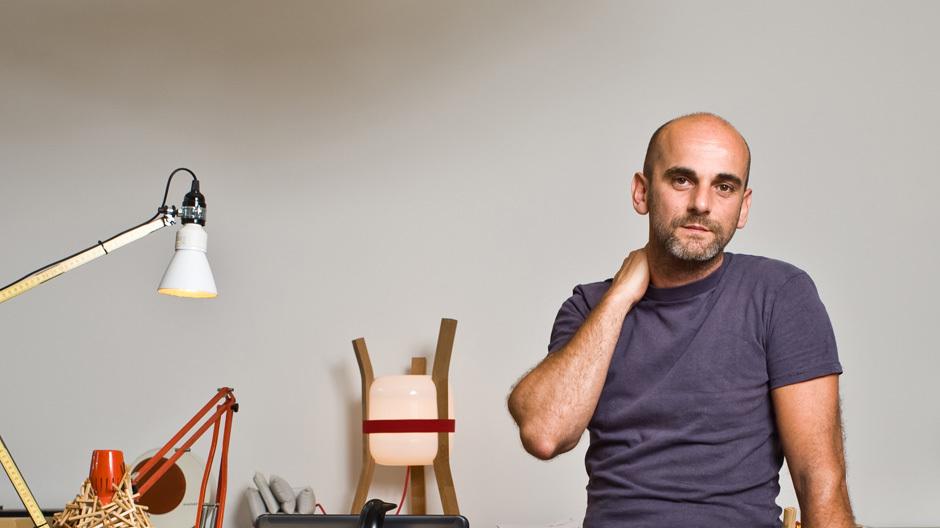 Fabien Dumas in seinem Berliner Studio, Foto: Manfred Klimek