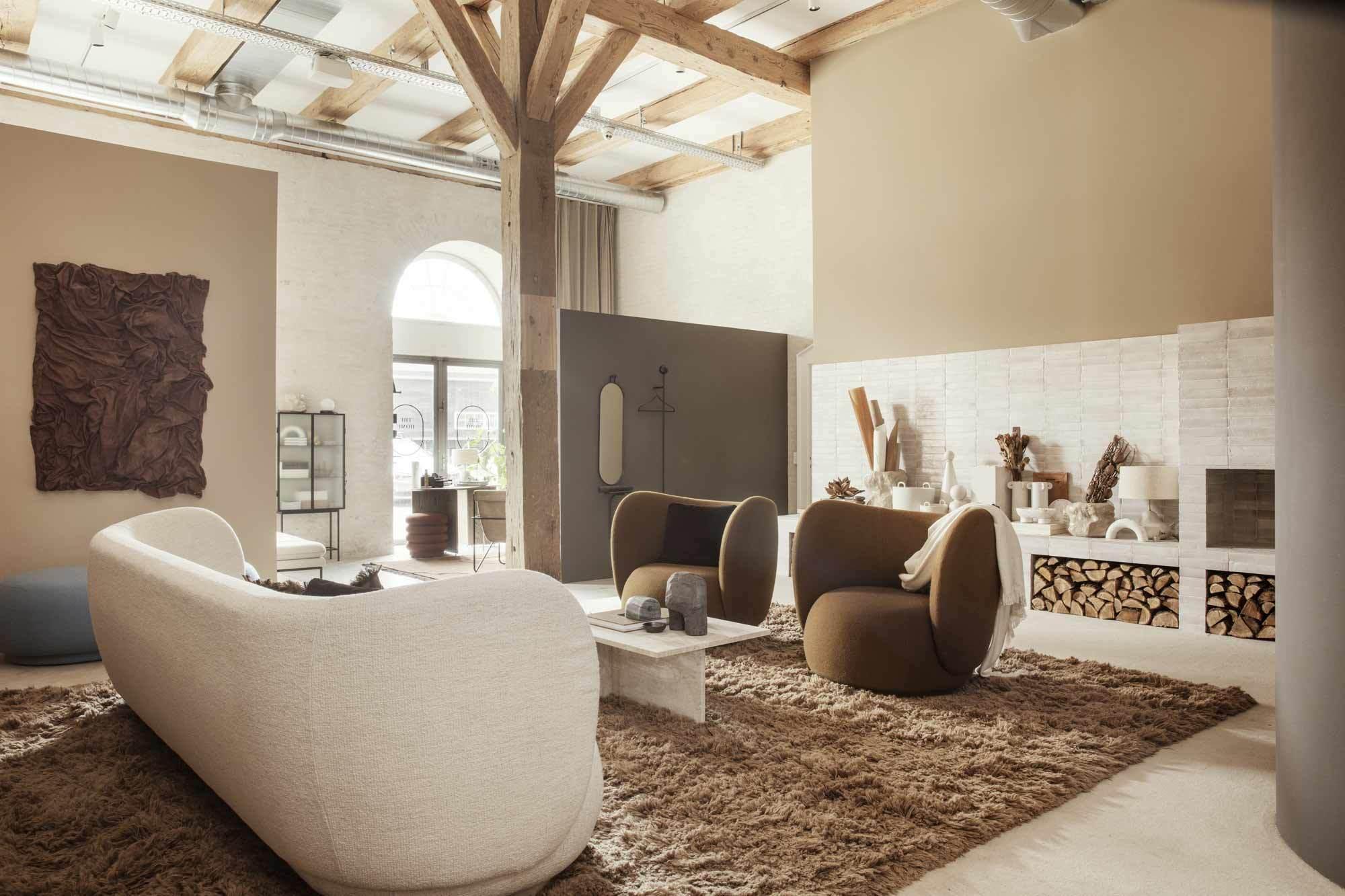 Ferm Living Home, der neue Headquarter des dänischen Hersteller, der im Rahmen des Designfestivals 3 Days of Design in Kopenhagen eröffnete