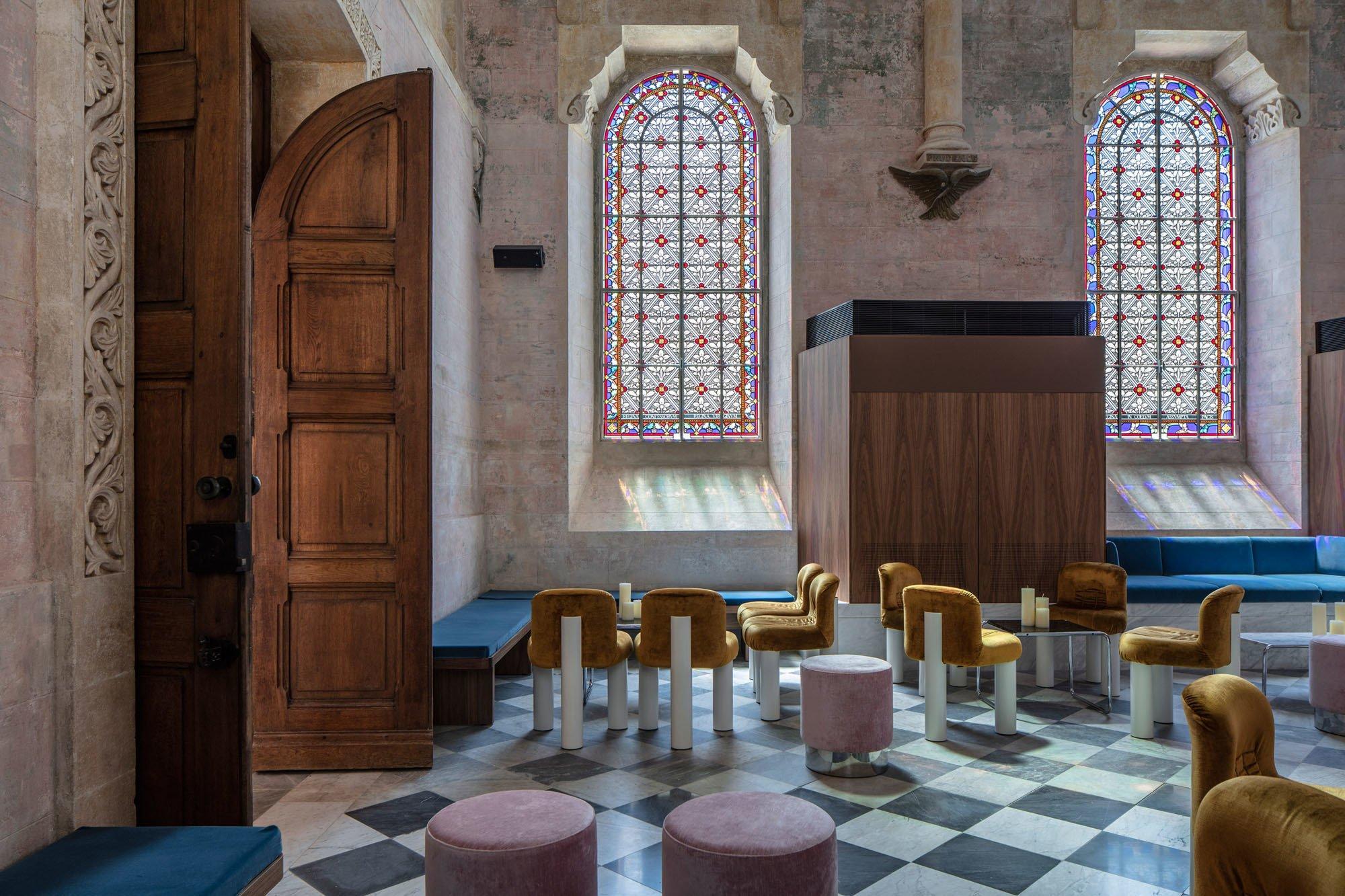 THE JAFFA: Die Kapelle wurde in eine Bar umgewandelt. Foto: Amit Geron
