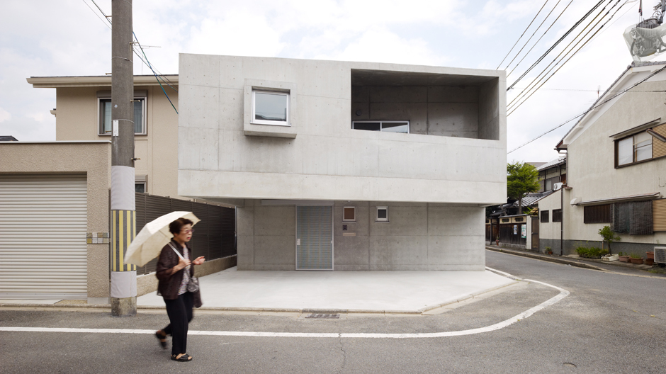 House in Kitaoji, Fassadenansicht