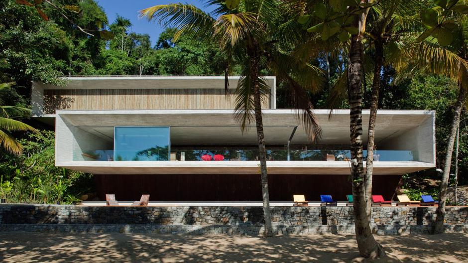 Studio MK27 baut High-End-Häuser im Widescreen-Format. Foto: Nelson Kon