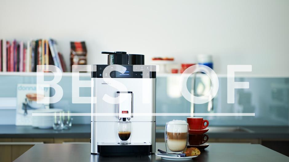 Kaffeevollautomat mit Einzelportionierungsschacht: Caffeo Varianza CSP, Melitta