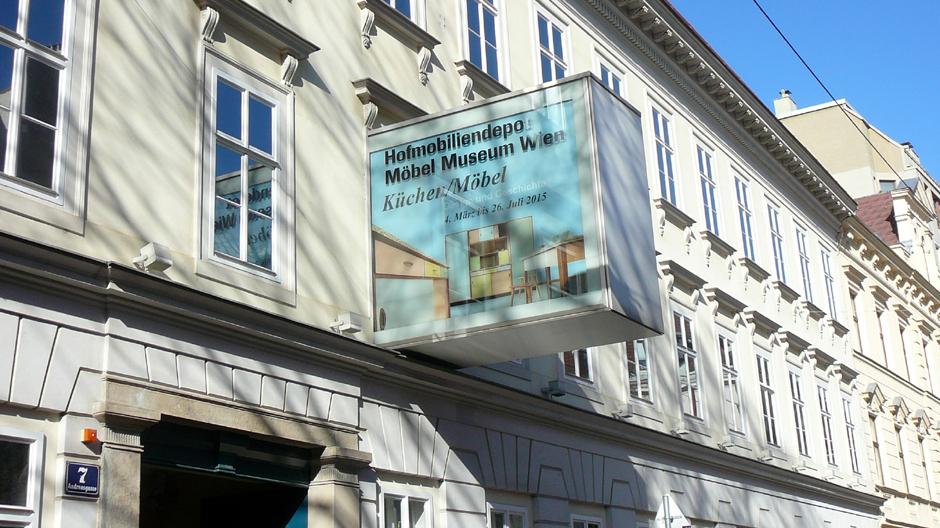 Ausstellung Küchen/Möbel im Hofmobiliendepot, Möbel Museum Wien