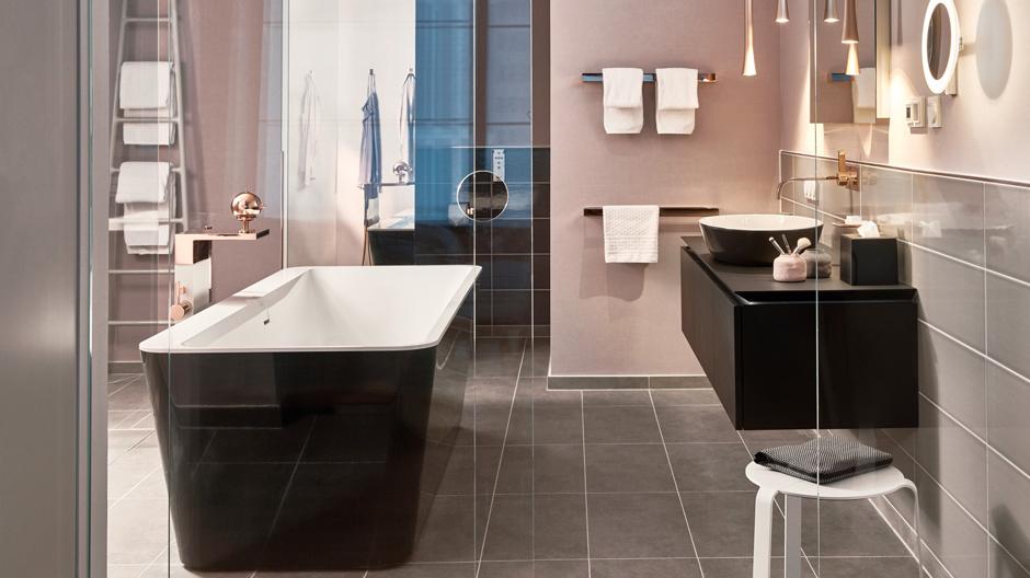 Badezimmer in der Suite Modern Serenity
