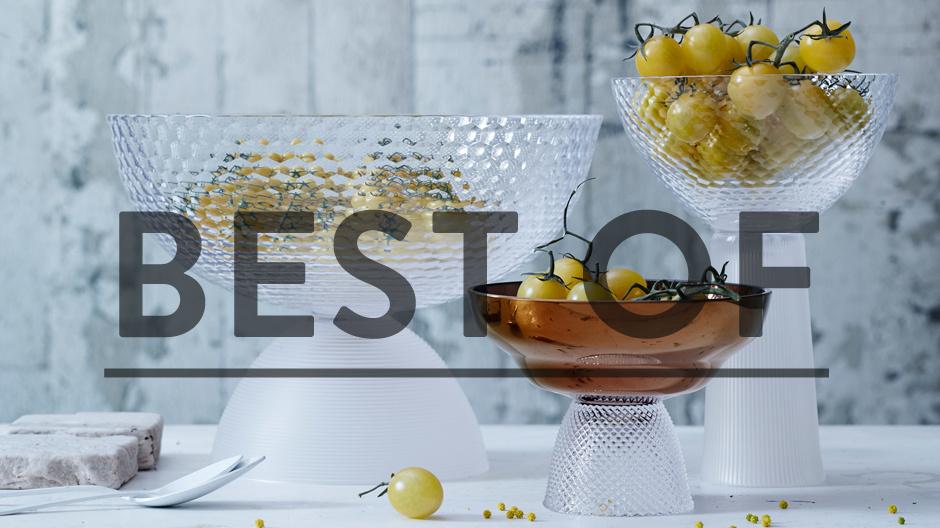 TREND: HandmadeDer tschechische Glashersteller Bomma fertigt für Rosenthal die geschliffenen Glasobjekte Jos, die Hannah Krüger entworfen hat. Ihre Inspiration: Josef Hoffmann und die Wiener Werkstätte.