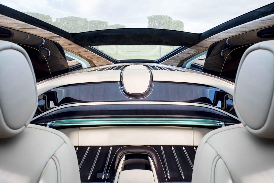 Sweptailvon Rolls-Royce, entworfen von Giles Taylor, 2017