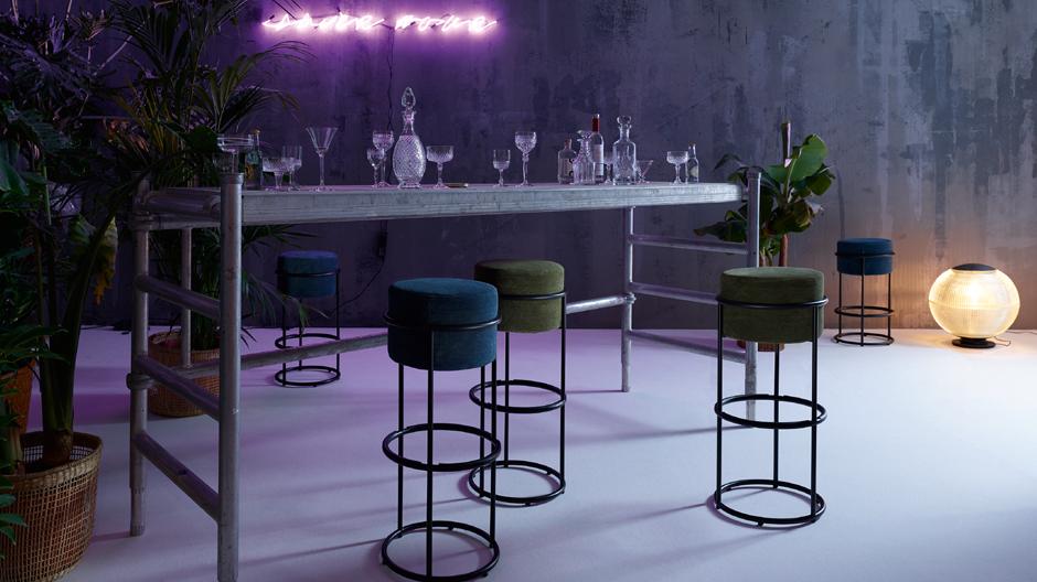 Drop Bar Stool von Pauline Deltour für Cor. Foto: Cor
