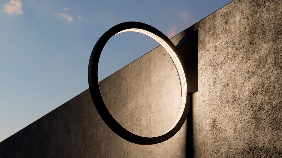 O von Alejandro Aravena für Artemide. Foto: Artemide