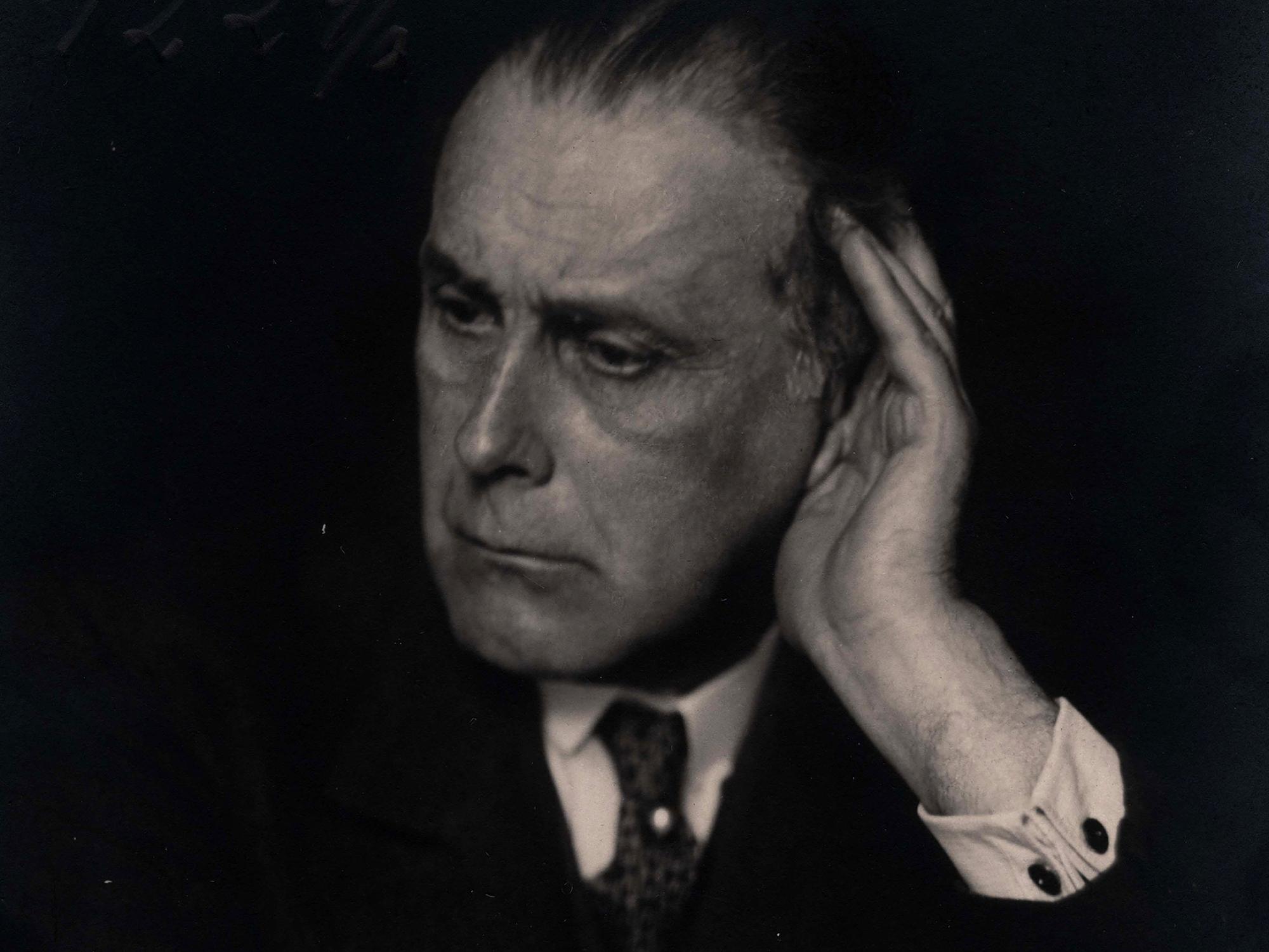 Porträt Adolf Loos, um 1929Foto: © Trude Fleischmann© ALBERTINA, Wien