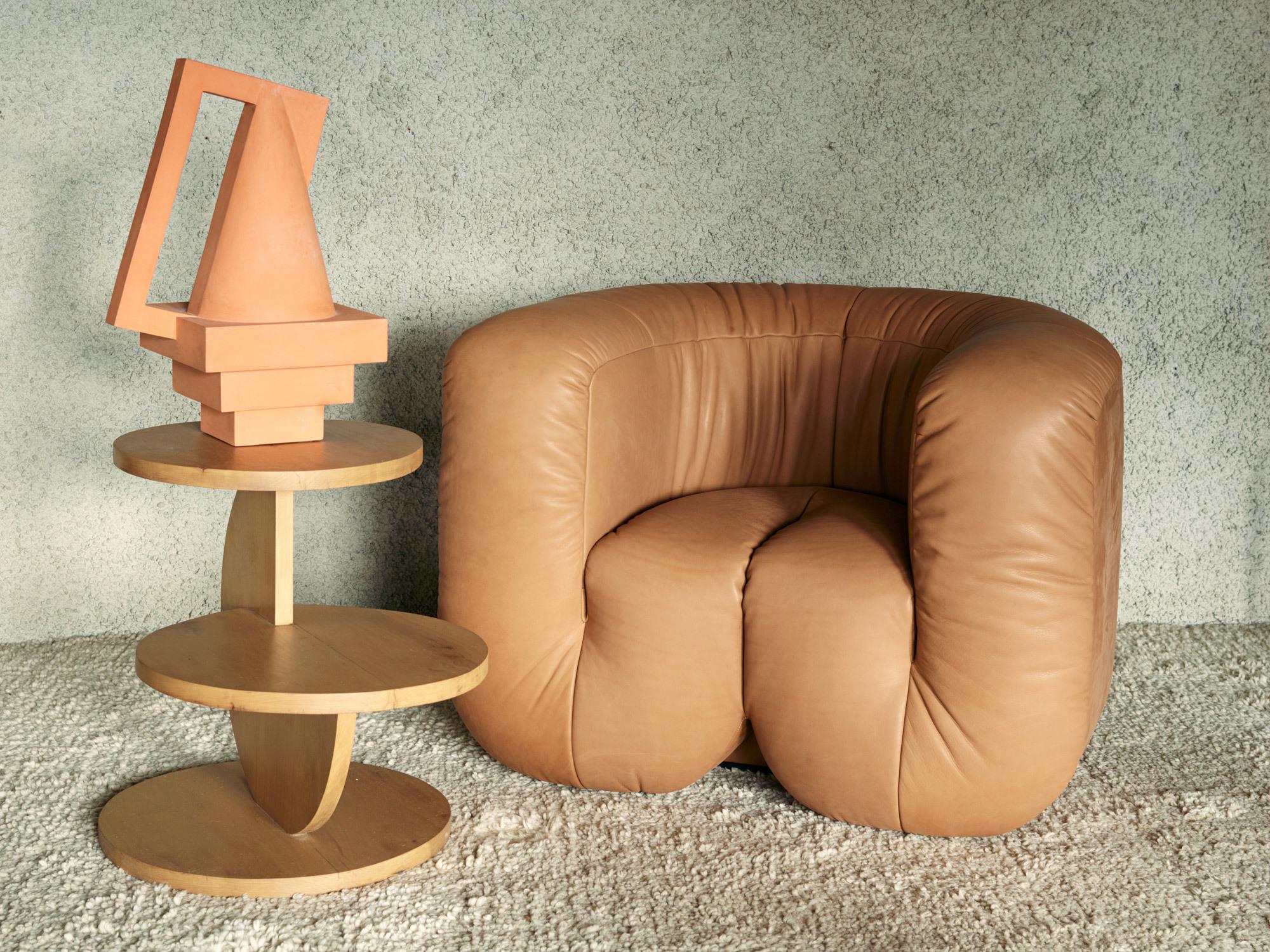 Schwere, wulstige Formen: Sofa- und Sesselkollektion DS-707 von Philippe Malouin für de Sede. Foto: de Sede