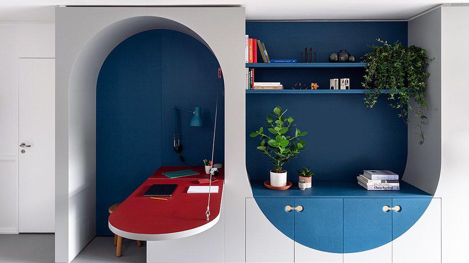 Auf kleinstem Wohnraum im Londoner Barbican Centre entwarf Architekt Ben Allen großartige Mini-Architekturen, die auch bei Erwachsenen den Spieltrieb fördern. Foto: French + Tye