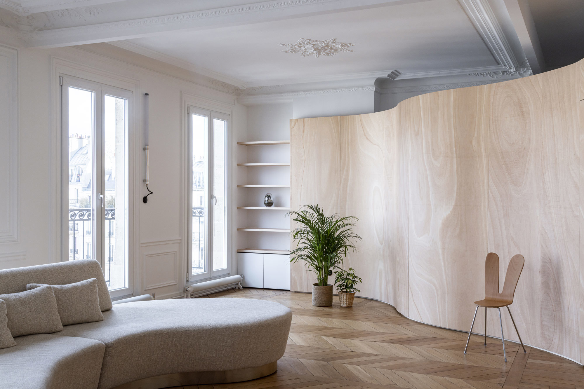 Wooden Ribbon, Paris, Toledano Architects, Foto: Salem Mostefaoui