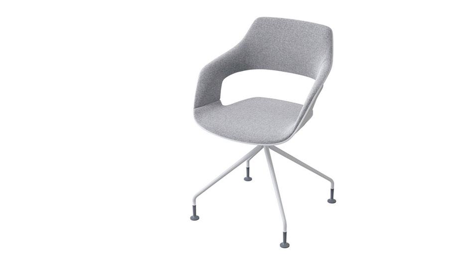 Flexible Stuhlserie von Jehs+Laub für Wilkhahn