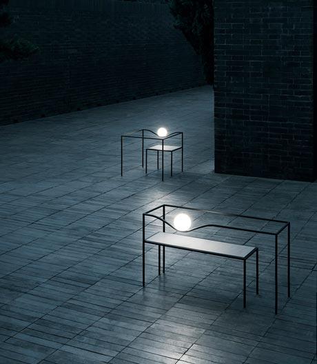 Outdoor-Leuchtenserie von Studio Nendo für Flos