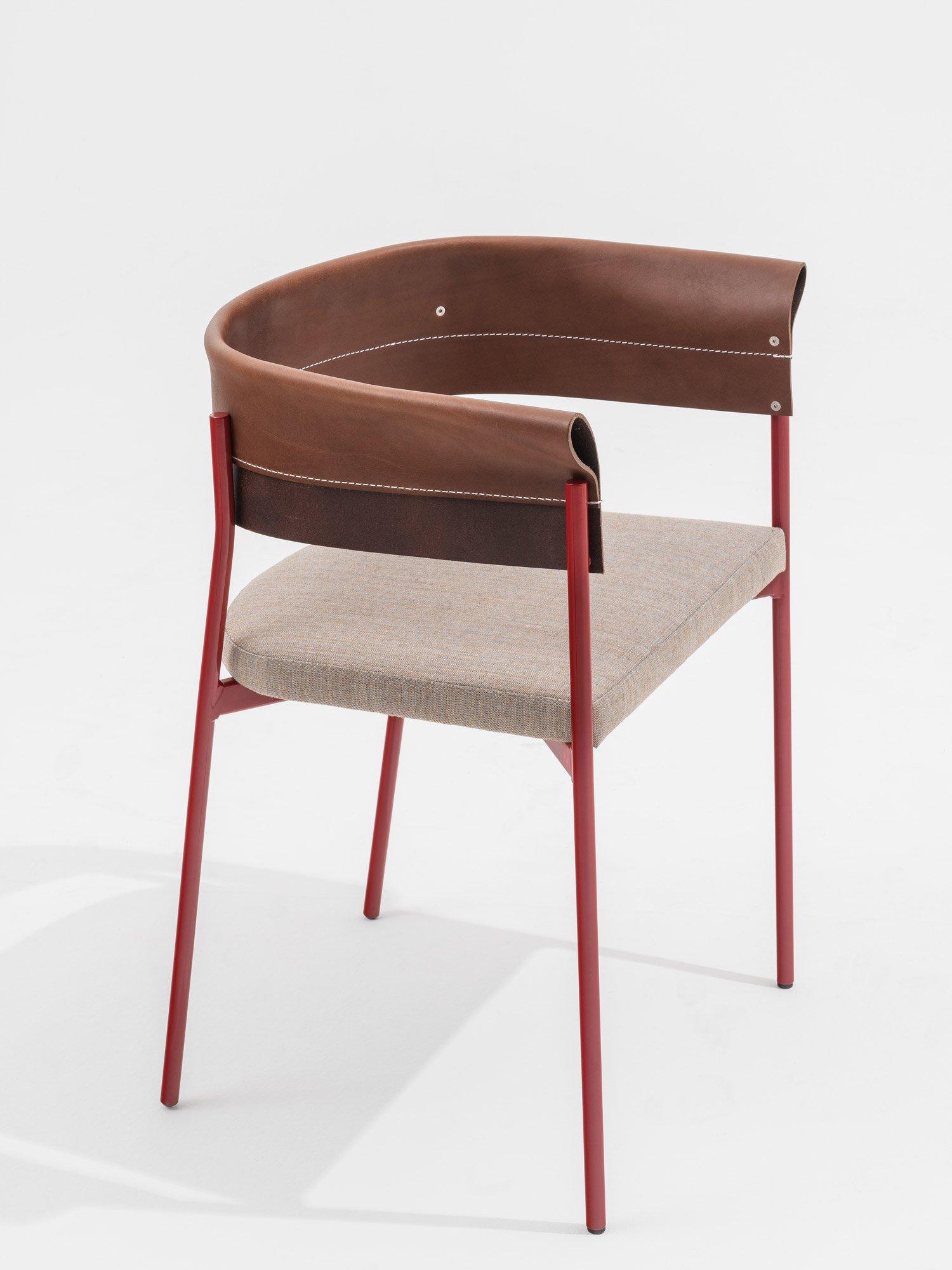 Hochwertig verarbeiteter Stuhl des Designkollektivs Vormen für SEM