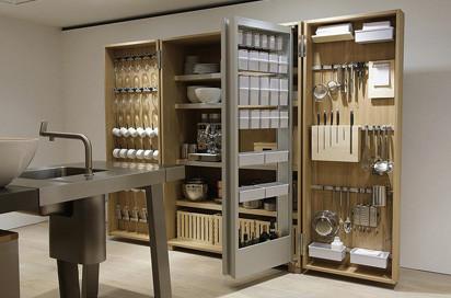 Ein offenes Küchensystem von Eoos für bulthaup