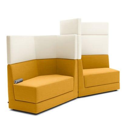Geometrisches Puzzel-Sofa vom deutschen Hersteller Cor