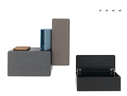 Grau in grau, aber ganz gewiss nicht fad: ein Garderobenprogramm von Sefan Diez für Schönbuch