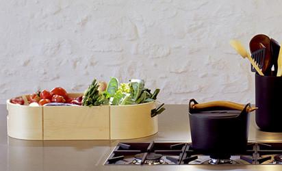 Ein pflegeleichtes und hochwertiges Accessoire von bulthaup für die Küche