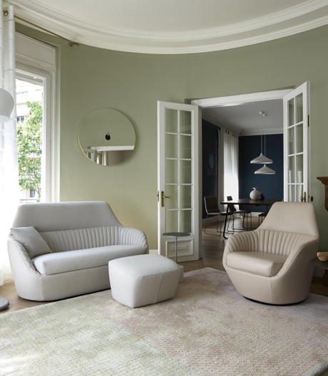 Formvollendetes Polstermöbel von Ligne Roset und Marie Christine Dorner
