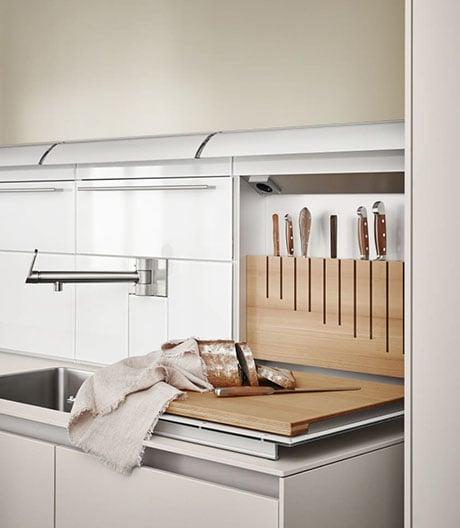 In der Küche ist Ordnung mehr als das halbe Leben