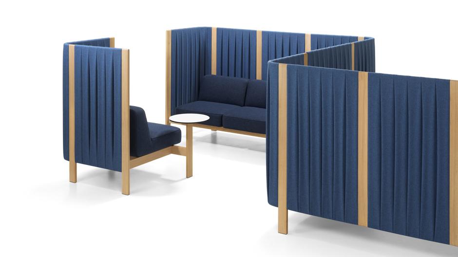 Modulares Lounge-Programm mit poetischen Qualitäten