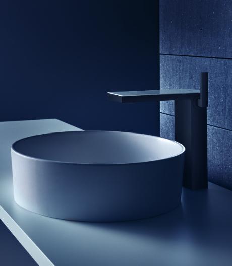 Gestaltungsspielraum: Waschtischarmatur von Phoenix Design für Axor.
