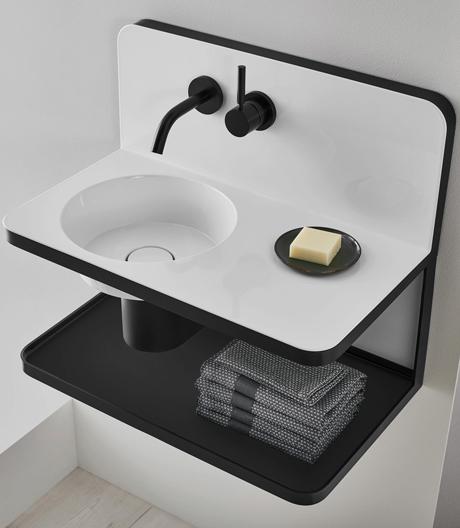 Die neue Sachlichkeit: Waschplatzlösung von Sieger Design für Alape.