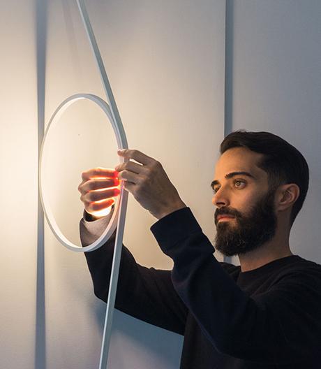 Kabel als Formgeber: Neue Leuchte von Formafantasma für Flos
