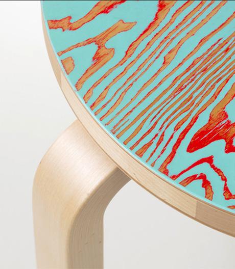 Alvar Aaltos Artek-Entwürfe mit neuer Oberfläche von Jo Nagasaka