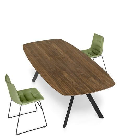 Schwebendes Tischmodell von Atelier I+N für Girsberger