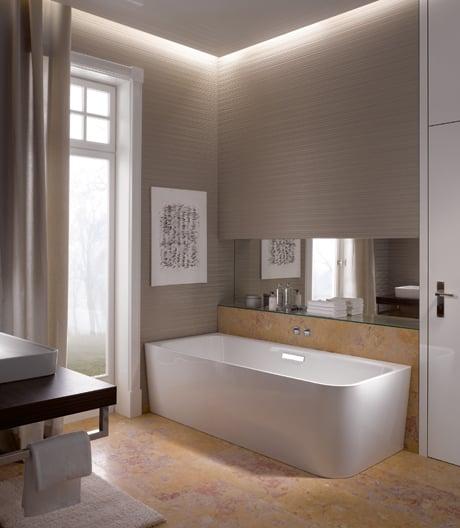 Badewannen für Ecken, Wände und kompakte Bäder