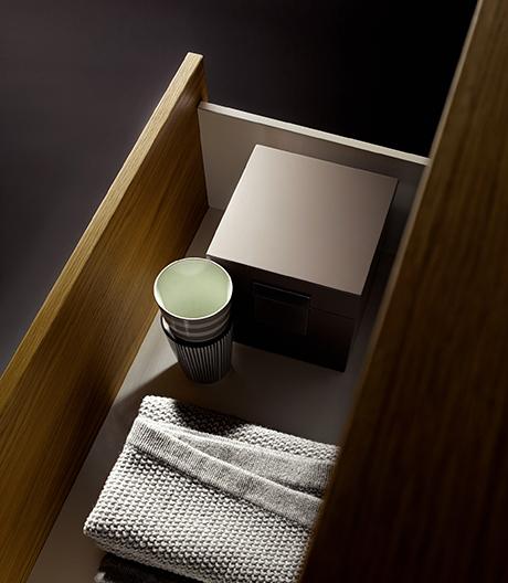 Ein kompatibles, verbindendes System aus Badmöbeln von Bette