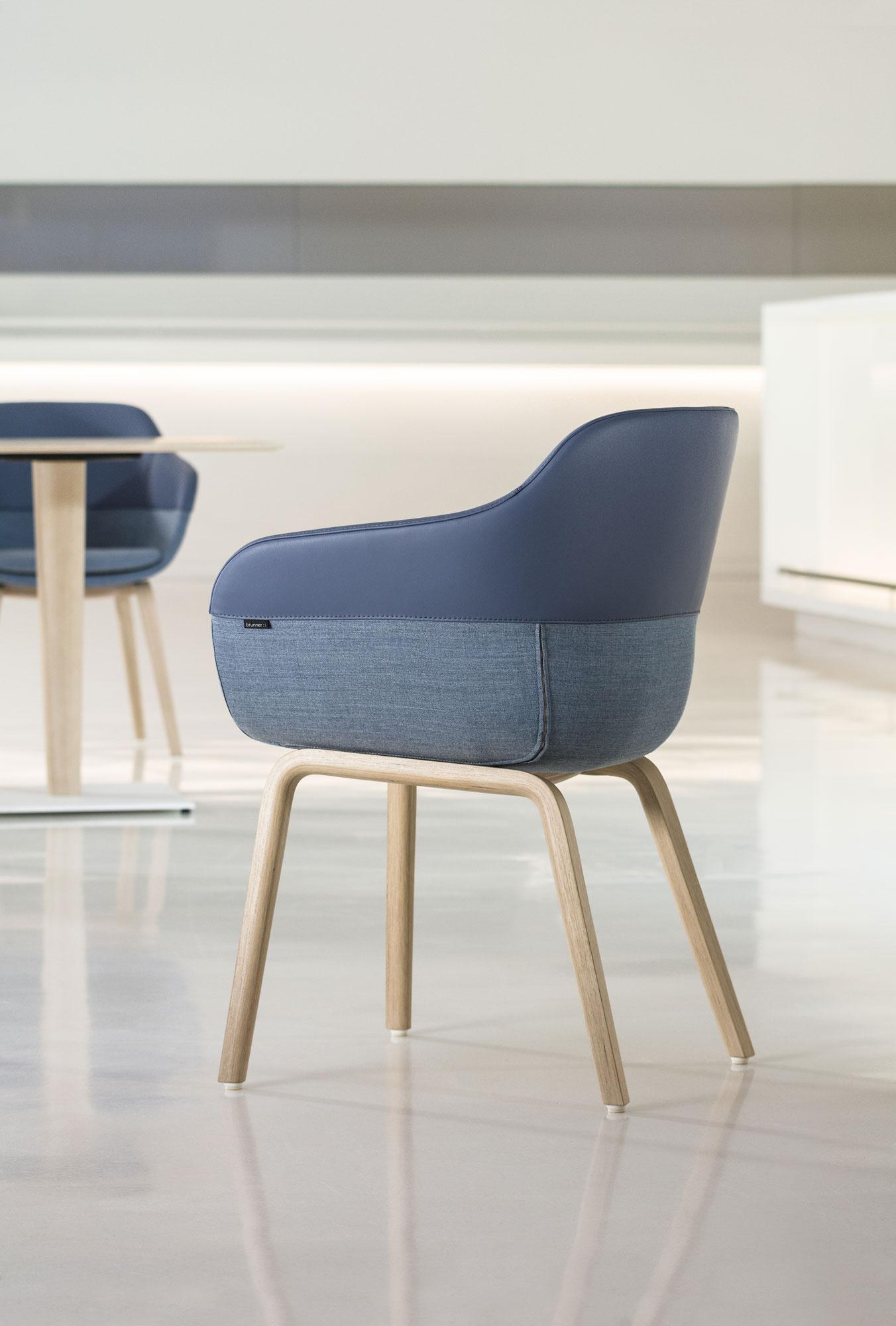 Variantenreicher Stuhl von Archirivolto für Brunner