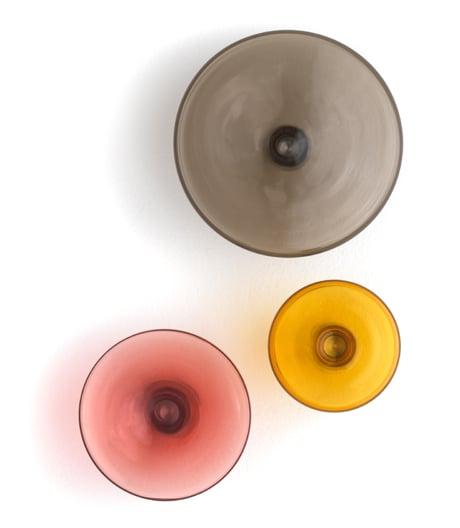 Kleiderhaken aus Glas von kaschkasch für Schönbuch.