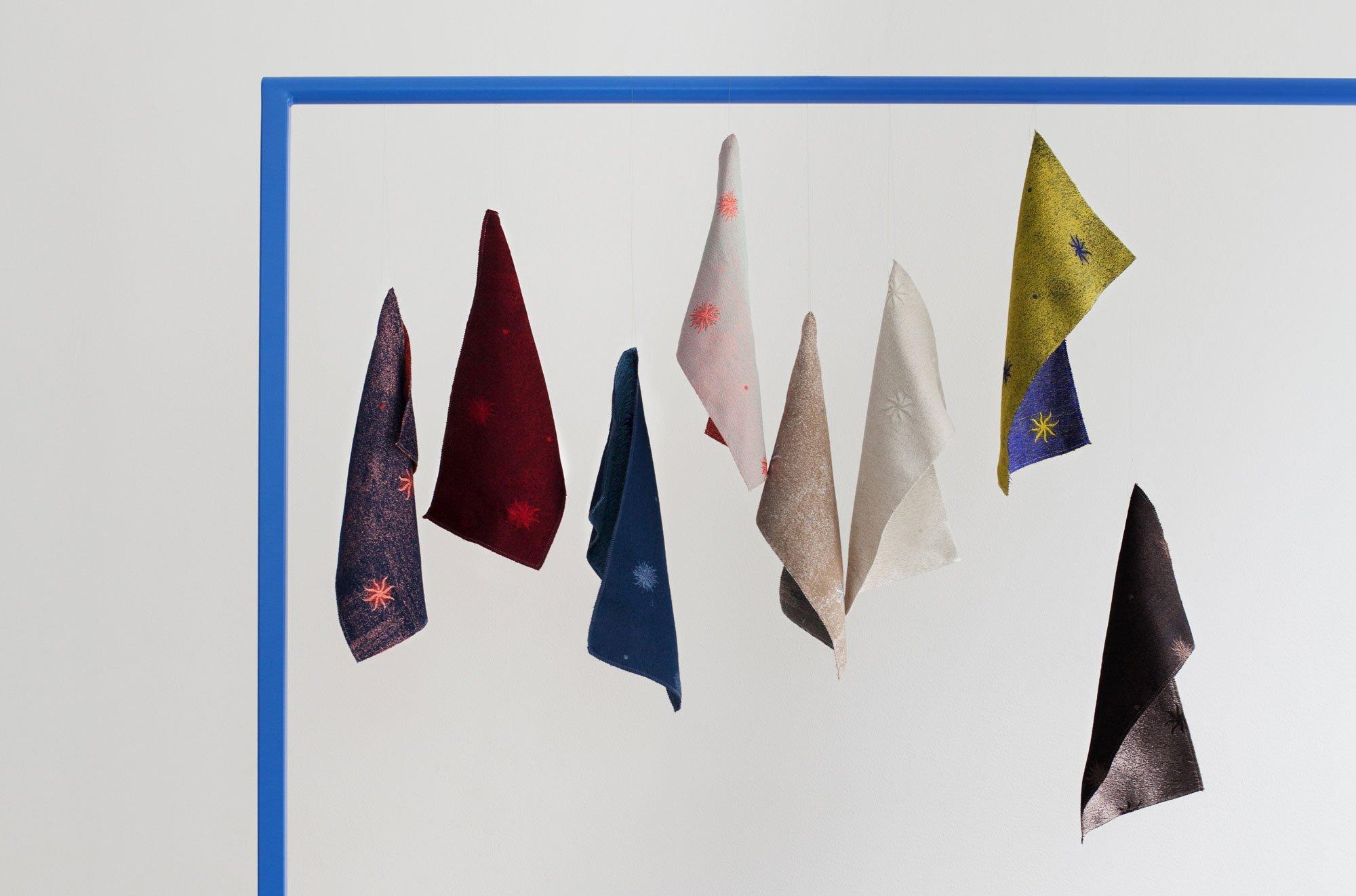 Farbenfrohe Stoffe von Luca Nichetto für Rubelli