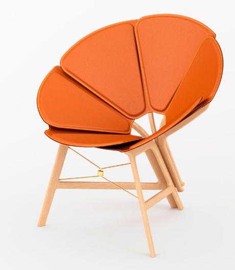 Faltbarer Stuhl von Raw-Edge für Louis Vuitton