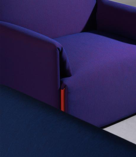 Modulares Sofasystem mit nachhaltigen Gestaltungsprinzipien von Stefan Diez für Magis.