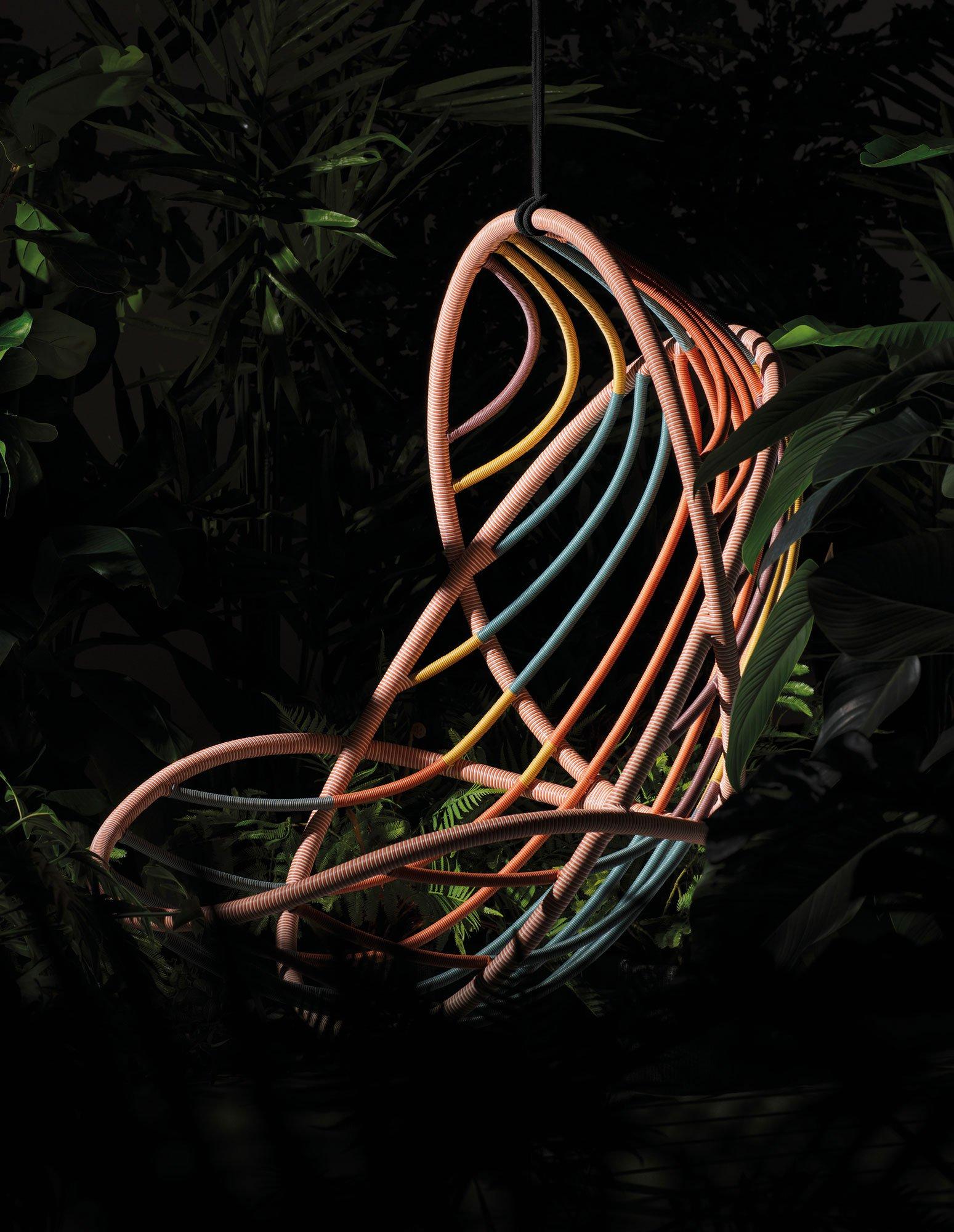 Luftig-leichter Hängesessel von Stephen Burks für Dedon