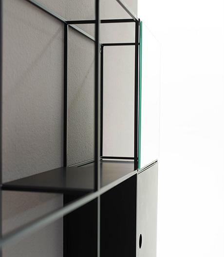 Modulares Badezimmerregalsystem von Norm Architects für ex.t