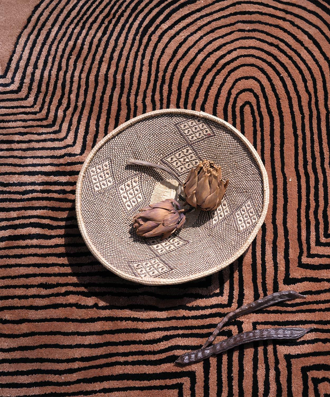 Nachhaltige Teppiche aus Meeresplastik von Christian Fischbacher