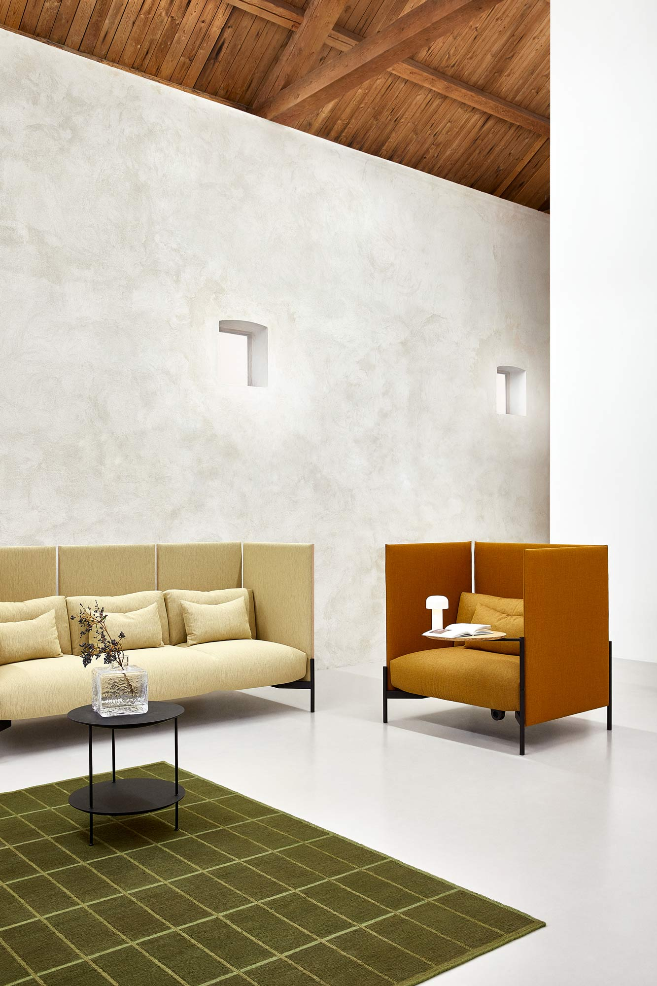 Modulares Sitzmöbelsystem von Todd Bracher für Fogia