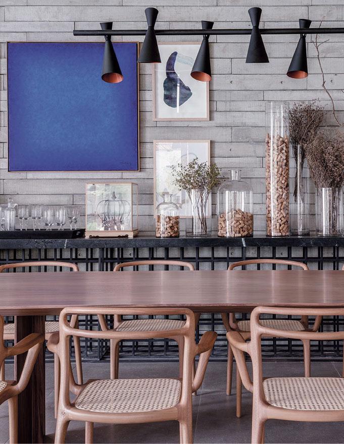 Handgefertigte Wandfliesen aus Architekturbeton von Godelmann