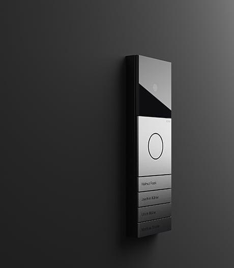 Vielfältiges Türstationssystem von Tesseraux + Partner für Gira