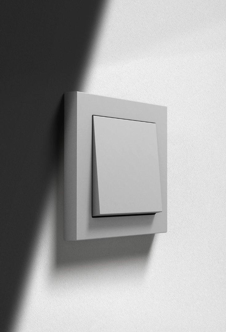 Farbliche Erweiterung der Schalter-Designlinie von Gira
