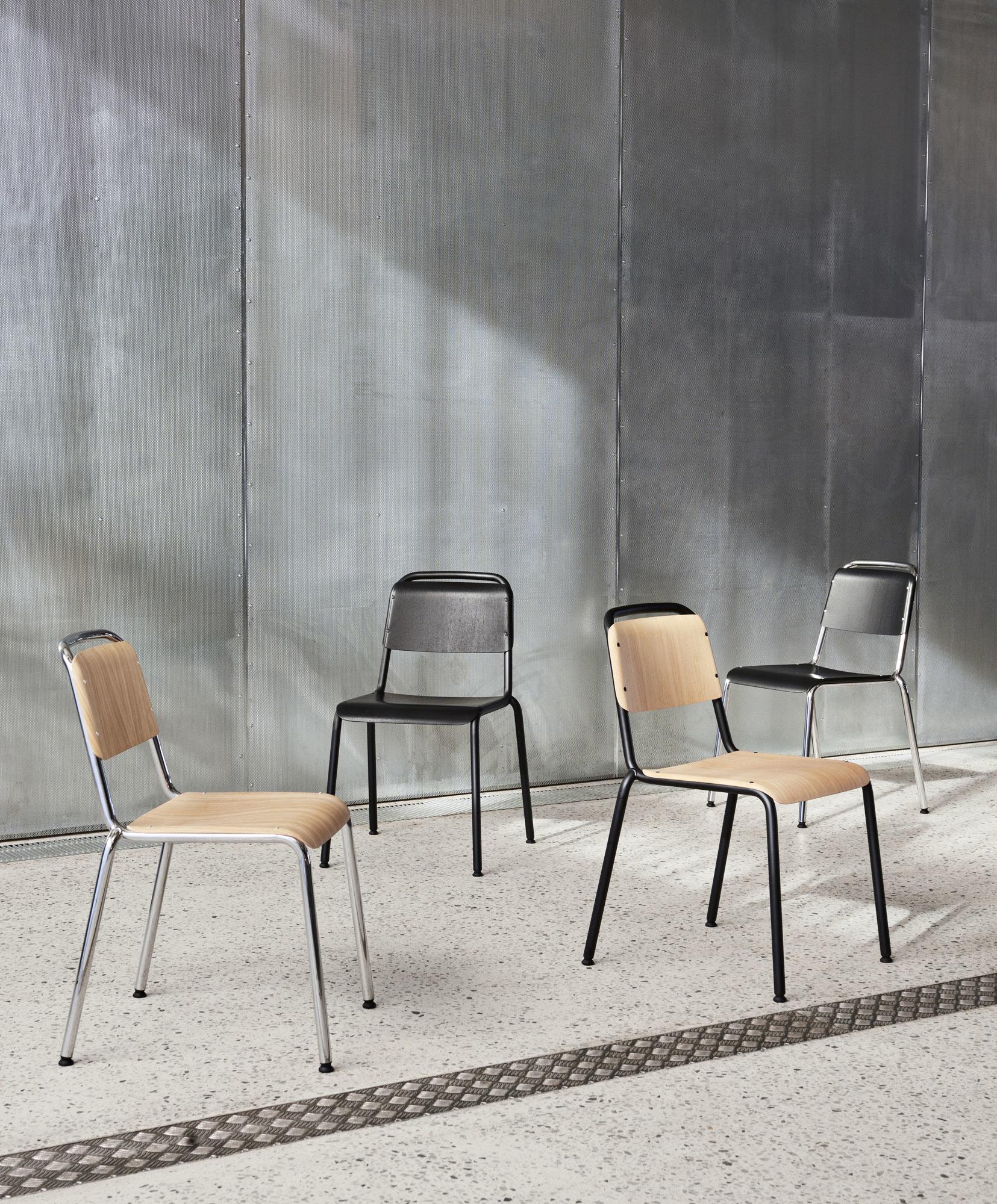 Zeitlos langlebiger Stuhl von COBE für Hay