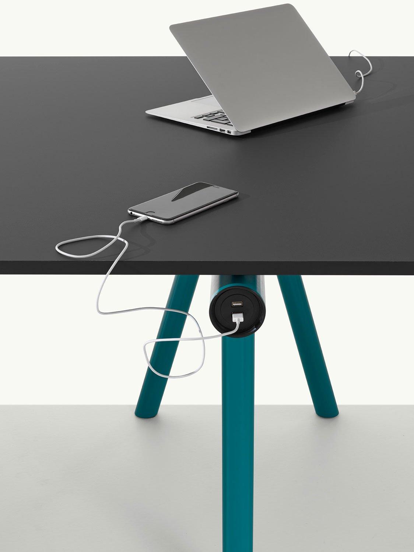 Flexibler Arbeitstisch von Francesco Faccin für Et al.